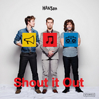 Pic of Hanson's new CD called: Shout It Out